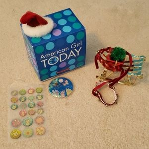 American Girl Today Coconut Holiday Accessories
